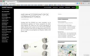 HAMnet.nl-website